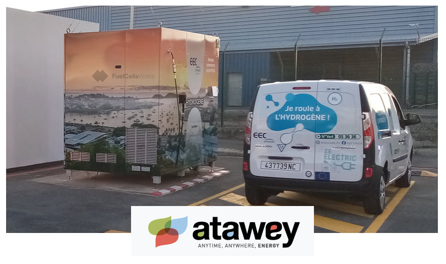 Atawey Caladonia Hydrogen Station