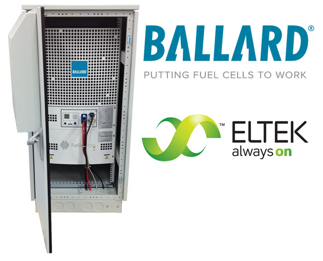 Ballard and Eltek Nordic to Collaborate on Fuel Cell Backup Power Systems for Communication Networks