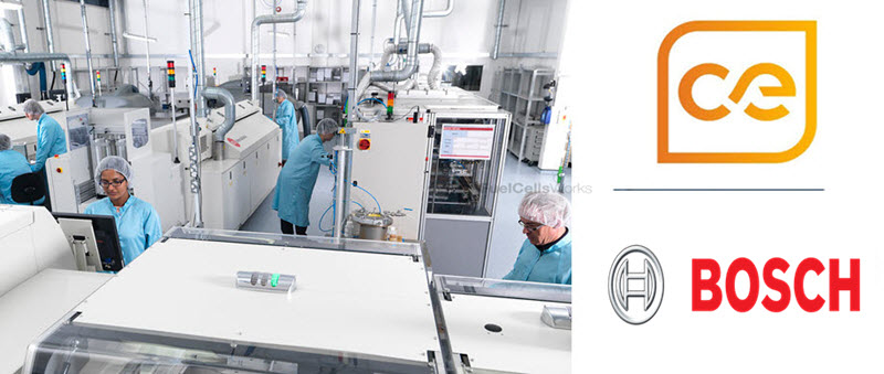 Bosch Ceres Power Fuel Cell Partnership TW
