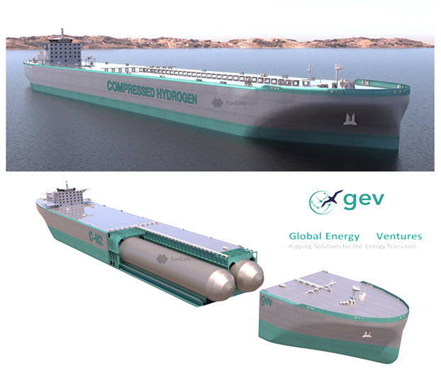 C H2 Ship Specifications Completed U.S. Provisional Patent Filed 1