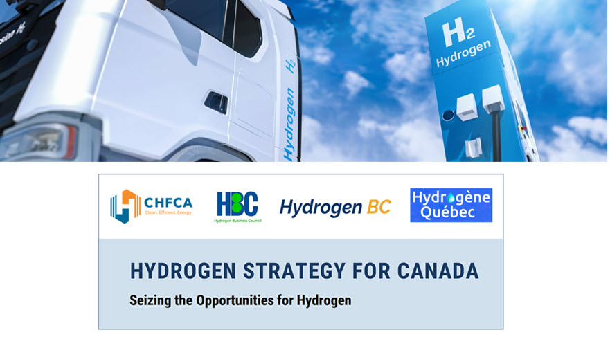 Canadian hydrogen and fuel cell sector applauds national strategy released by federal government