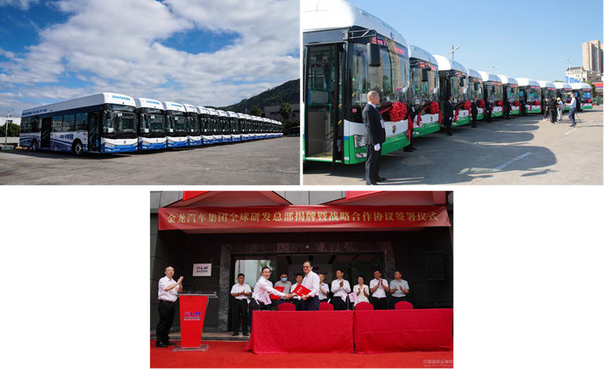 China 100 Hydrogen Fuel Cell Buses Off the Assembly Line and Soon to be Delivered