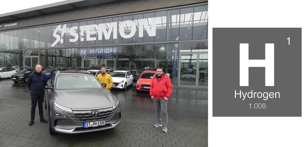 City of Rheine Receives Fuel Cell Vehicle