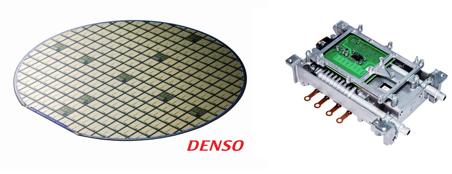 DENSO Produces Silicon Carbide Power Semiconductors for Fuel Cell Vehicles 1