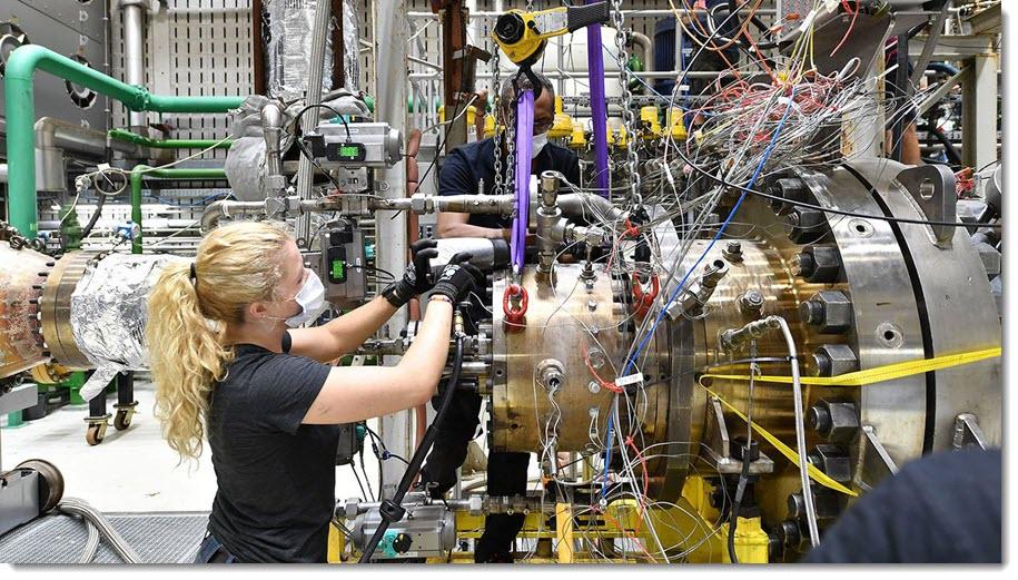 DLR CO2 Free Hydrogen Power Plants
