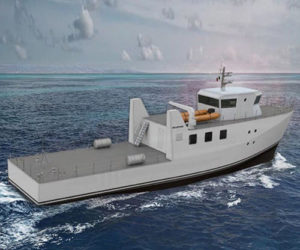Dry Dock Work Starts for Experimental Fuel Cell Powered Marine Vessel 1