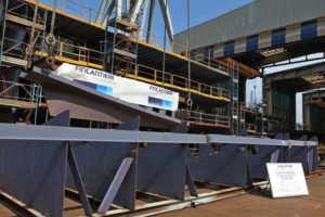 Dry Dock Work Starts for Experimental Fuel Cell Powered Marine Vessel 2