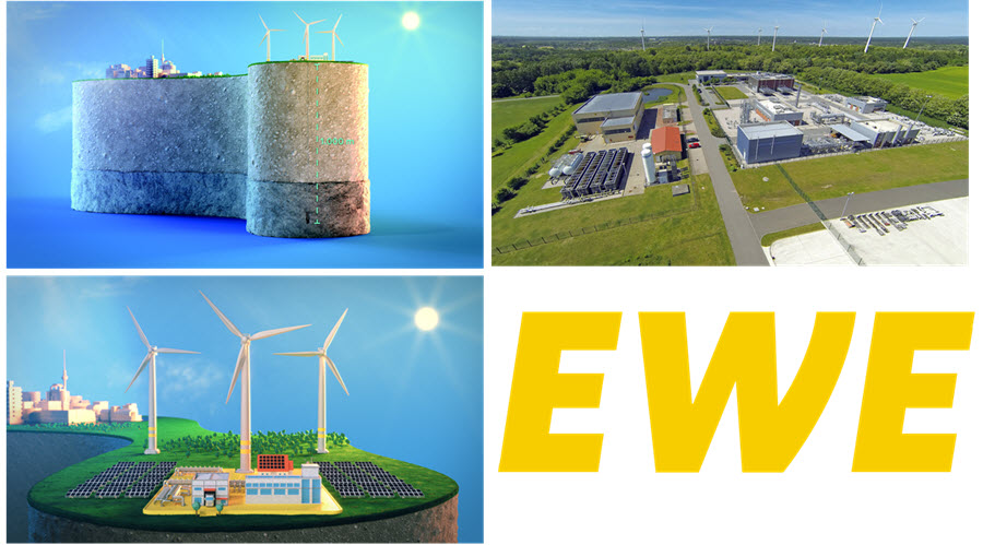 EWE Building Test Caverns for 100 Hydrogen Storage Starting from February 1 Main