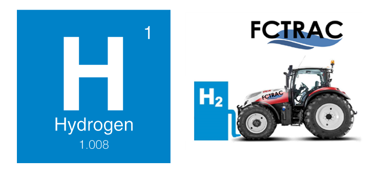 FCTRAC Fuel Cell Tractor Fueled with Hydrogen 2