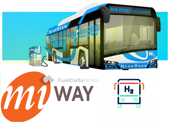 First for Canada MiWay Participating in a Hydrogen Fuel Cell Electric Bus Pilot Project