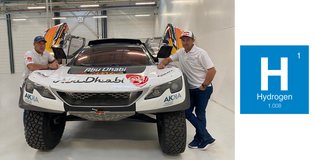 GEN Z Project a Hydrogen Powered Vehicle that Will Change the World of Rally Raid Motorsports