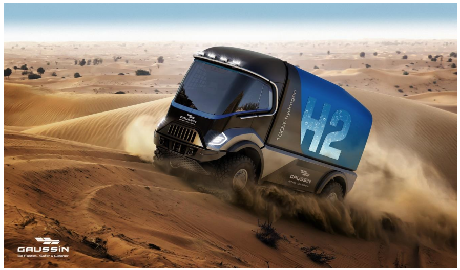 Gaussin to Participate in the Dakar Rally with Hydrogen Trucks
