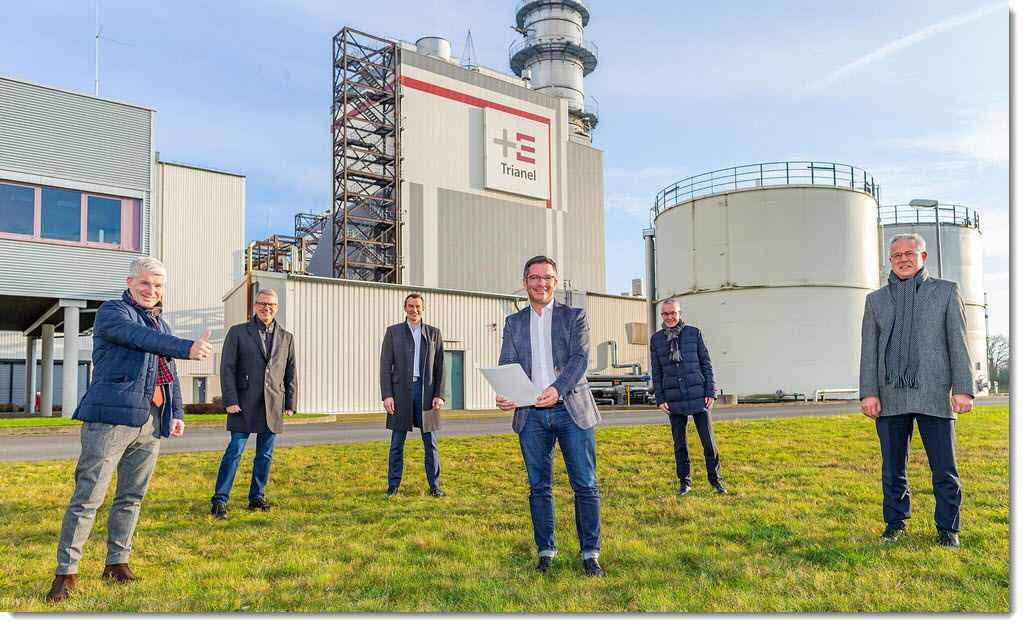 Germany Hamm Becomes a Hydrogen Cluster