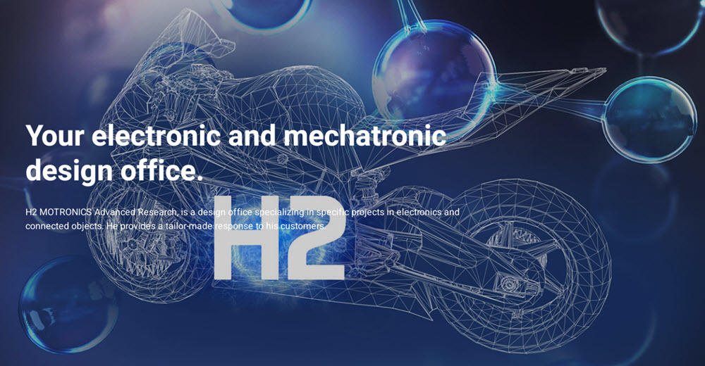 H2 Motronics Working on Development of Hydrogen Motorcycle