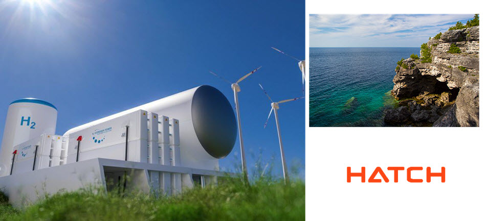 Hatch and Plan Group Support Bruce County and Saugeen First Nations Bruce Innovates Hydrogen Project