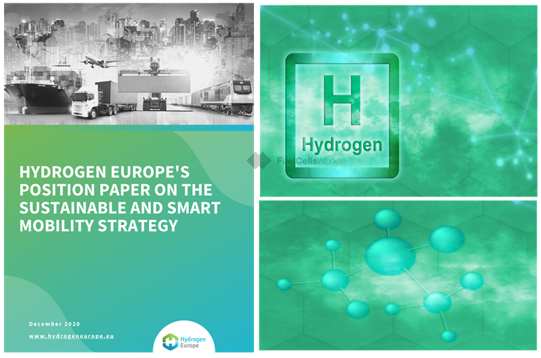 Hydrogen Europes Position Paper on the European Commissions Strategy for a Sustainable and Smart Mobility
