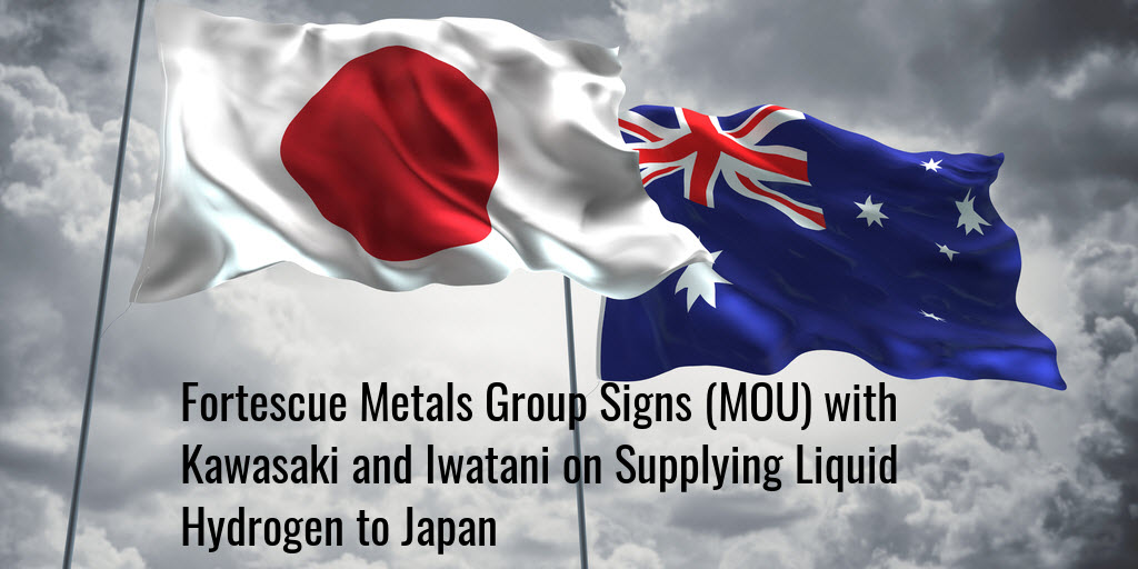 Japan and Australia Hydrogen Fortescue
