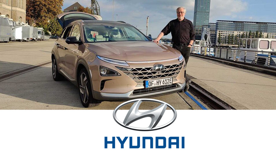 Journalist Don Dahlmann Covers Hydrogen Eco Mobility for Hyundai H2