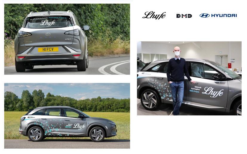 Lhyfe Acquires Nexo Hydrogen Vehicle