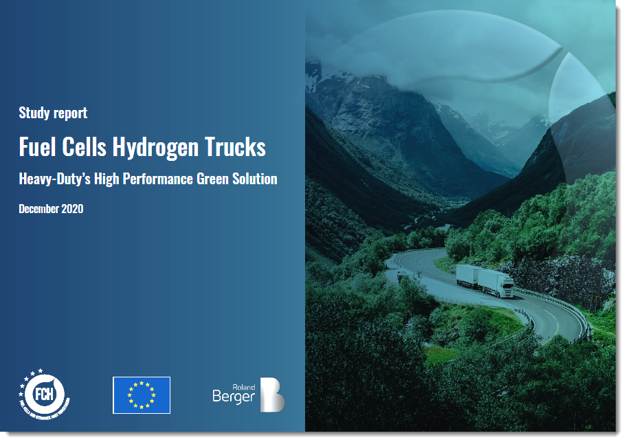 New Study on Hydrogen Trucks Released 1