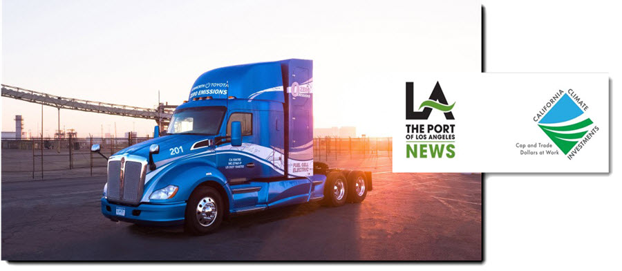 Port of Los Angeles Preliminarily Awarded 41 Million from California Air Resources Board to Launch Zero Emissions Hydrogen Fuel Cell Electric Freight Project