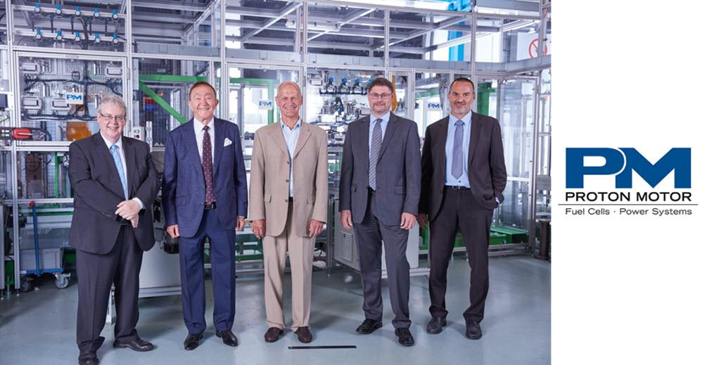 Proton Motor Receives Green Economy Mark Award