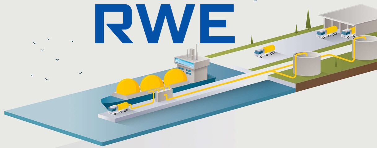 RWE Supply Trading Examines the Import of Hydrogen via LNG Terminals