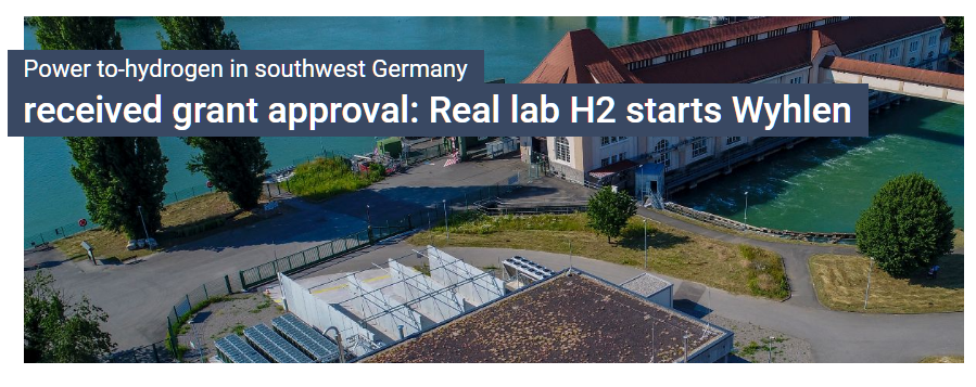 Real World Laboratory for the Energy Transition in Grenzach Wyhlen Tests Green Hydrogen for Local Energy and Raw Material Supply