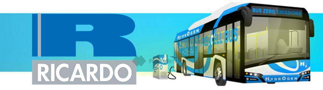 Ricardo Funding Hydrogen Bus