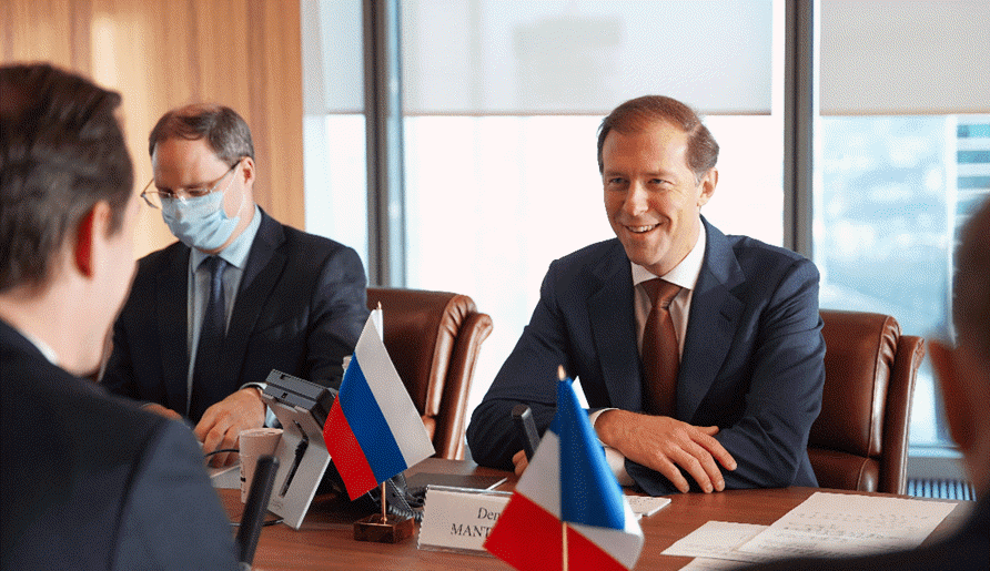Russia France Discuss Prospects Of Cooperation in Aerospace Hydrogen Projects