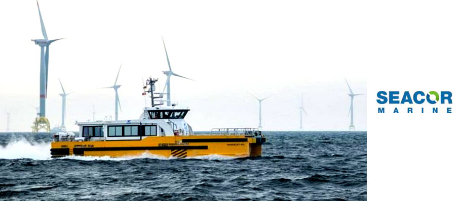 SEACOR Marine and CMB Announce Transaction for Windfarm Support Business