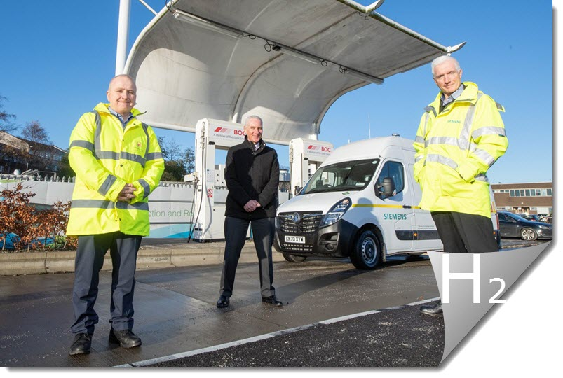 Siemens Mobility Launches First Hydrogen Powered Van in Partnership with Aberdeen City Council