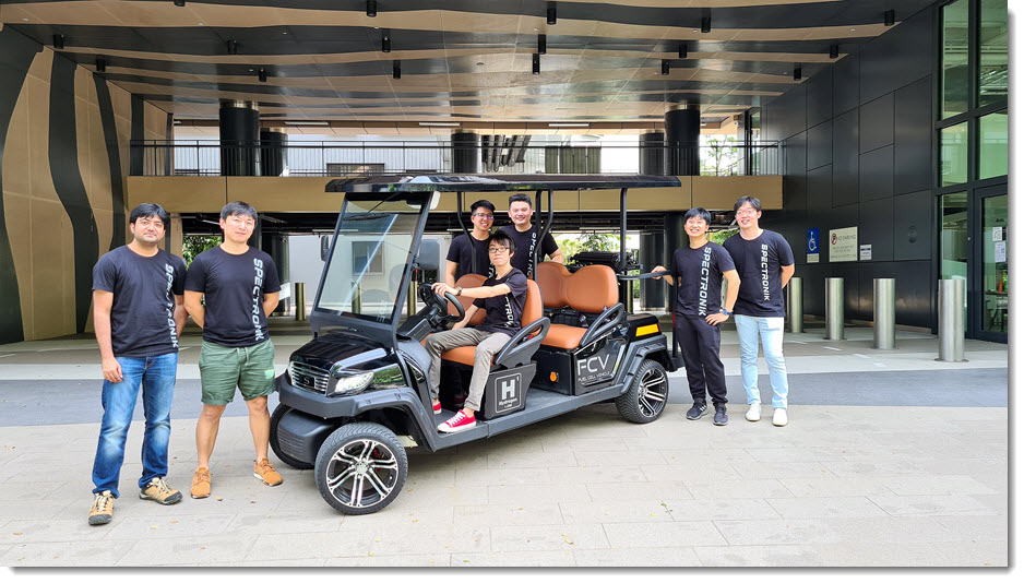 Spectronik Showcases a Hydrogen Fuel Cell Buggy