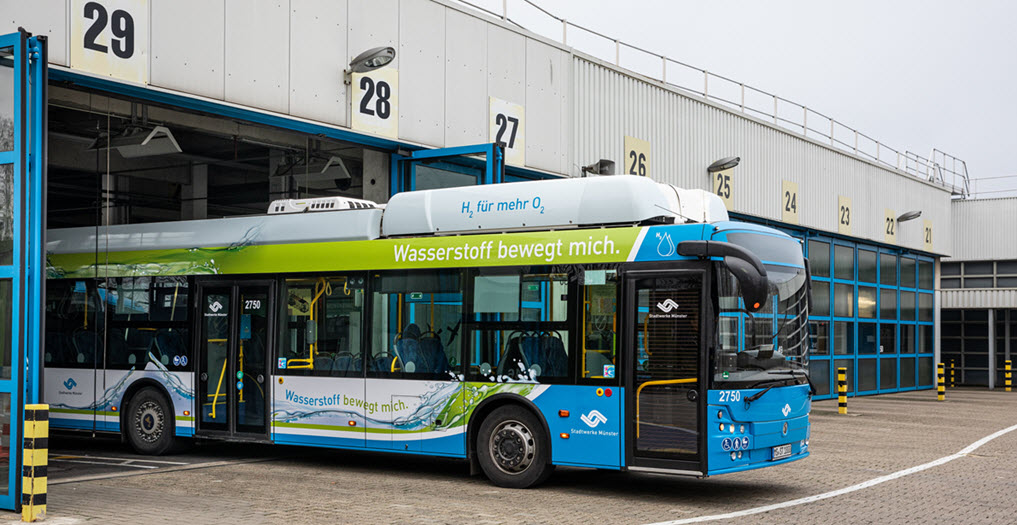 Stadtwerke to Use the First Hydrogen Bus in Munster