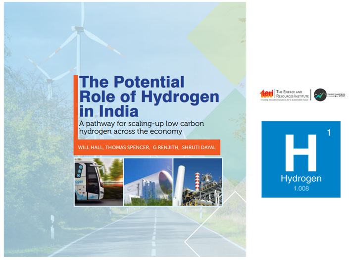 TERI Report Paints a Green Future for Hydrogen in India