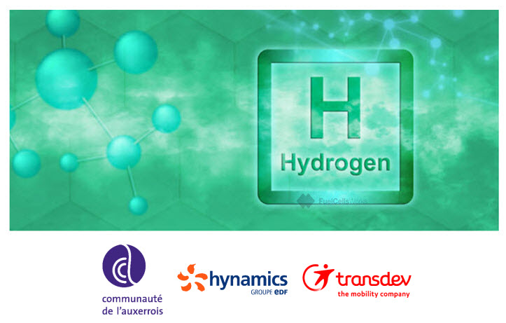 The Agglomeration of Auxerre in Partnership with Hynamics and Transdev is Committed to a Green Hydrogen Project