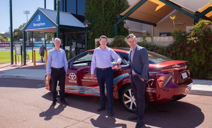 The City of Fremantle Trials Zero Emission Hydrogen Powered Car