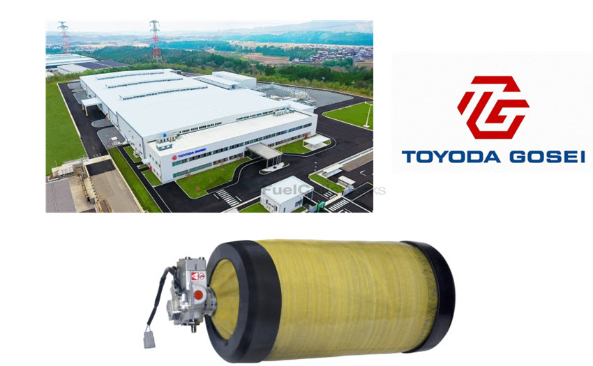 Toyoda Gosei Starts Operation of High Pressure Hydrogen Tanks for FCVs at Inabe Plant in Japan