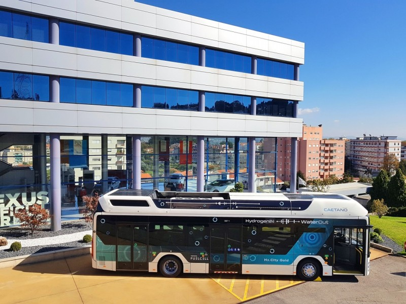 Toyota Motor Europe Strengthens Strategic Alliance with CaetanoBus and Finlog in Fuel Cell Bus Business