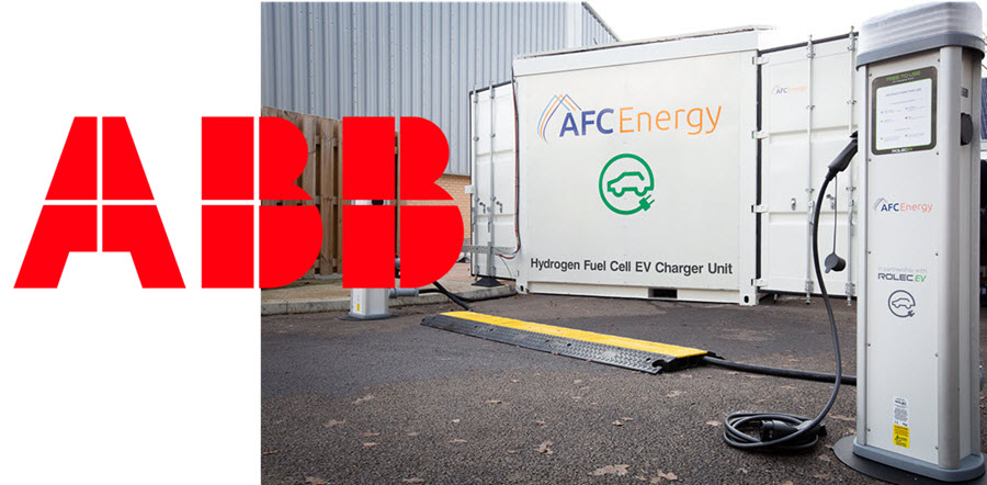 UK Hydrogen Power Specialist AFC Energy and ABB Partner to Power Up the Future of Clean EV Charging