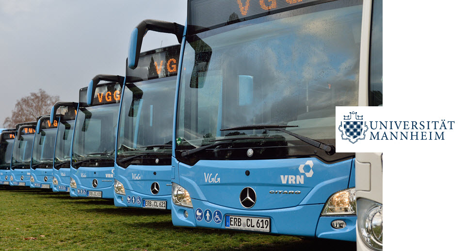 University of Mannheim Supports the RNV in the Switch to Hydrogen Buses