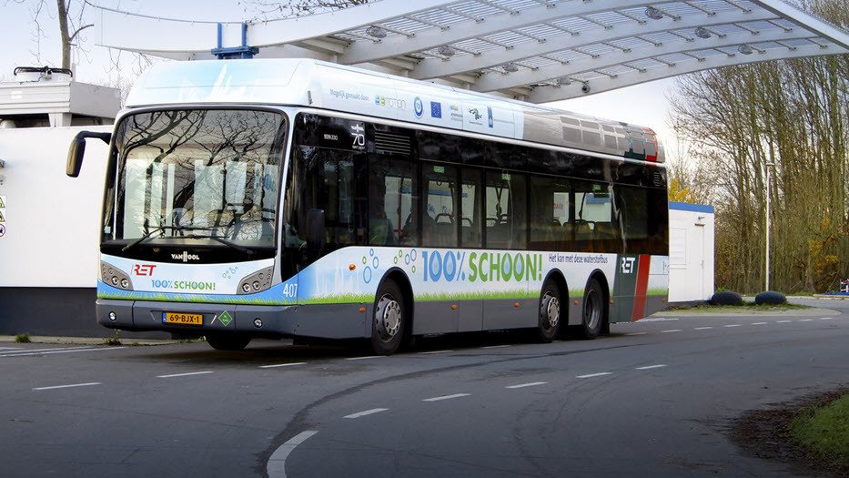 Van Hool Fuel Cell Buses have Travelled for 10 Million Kilometres