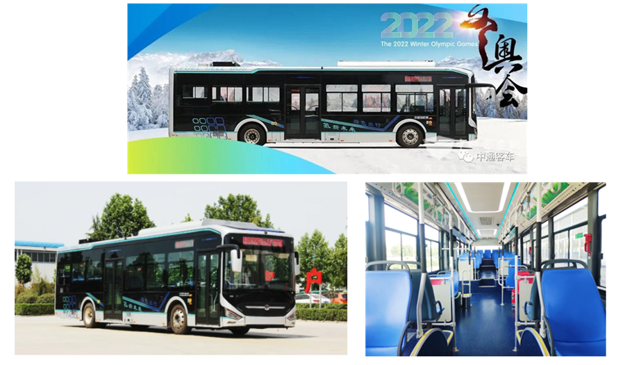 With 2022 Winter Olympics Approaching Zhongtong Bus Successfully Wins Bid for 40 Hydrogen Fuel Cell Buses in Zhangjiakou
