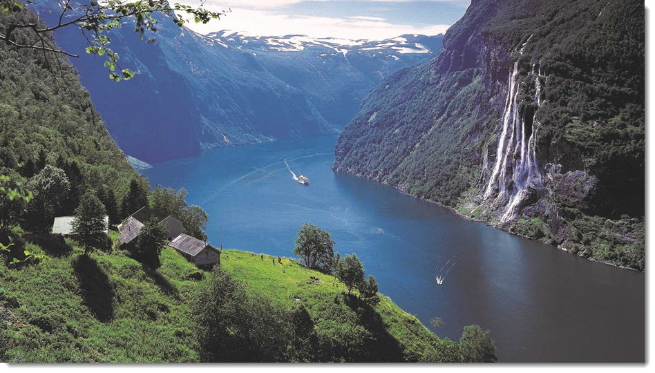 World Heritage Fjord in Geiranger to Receive Hydrogen Fuel Cell Powered Ferries