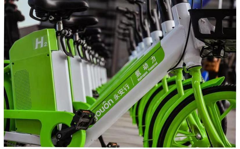 Yongan Xingxing Hydrogen Fuel Cell Electric Bike Launched in Changzhou 2