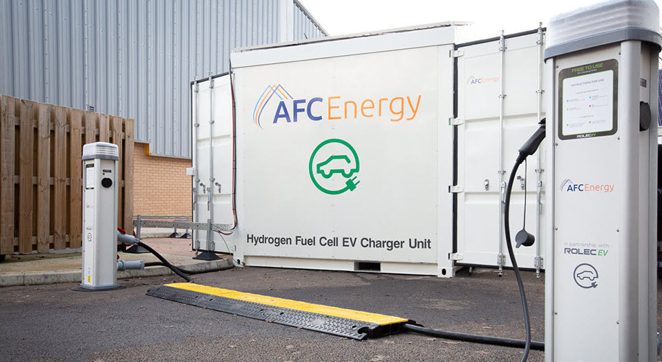 fuelcellsworks, New Hydrogen Fuel Cell-Powered Fast Chargers