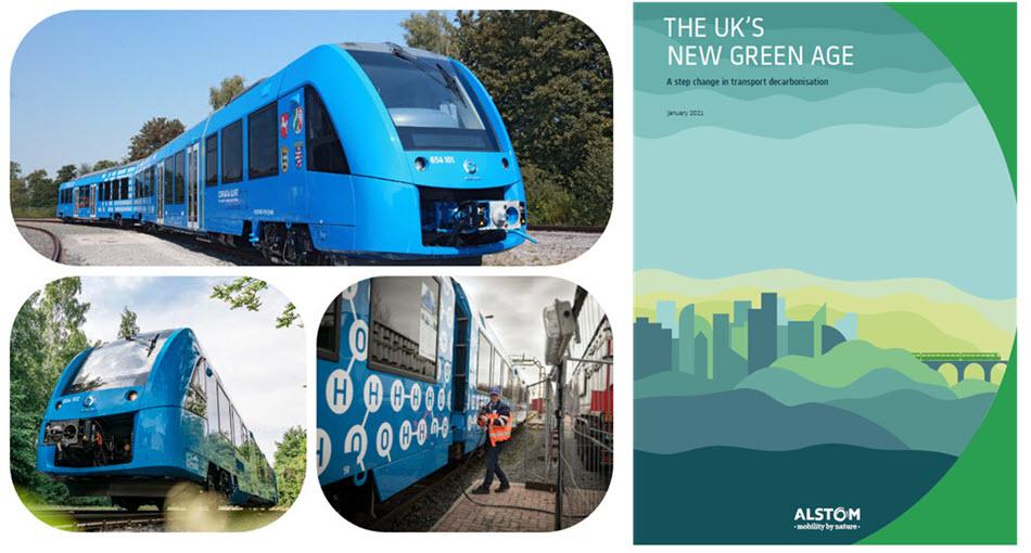 fuel cells works, alstom, hydrogen trains