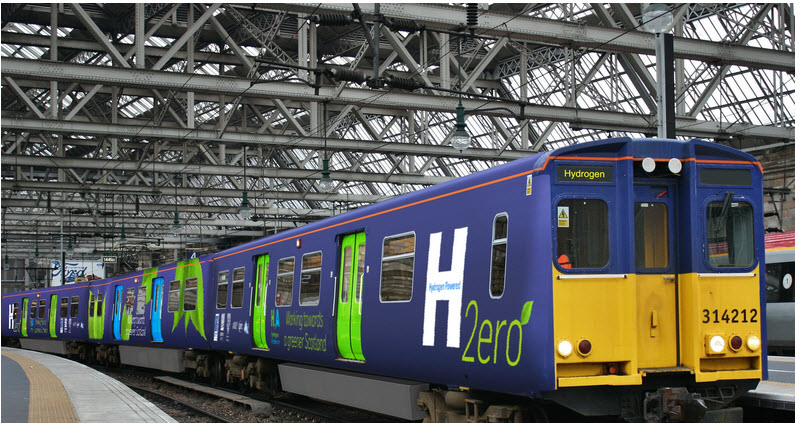 Arcola Energy and Consortium of Rail Industry Leaders will Deliver the First Scottish Hydrogen Powered Train
