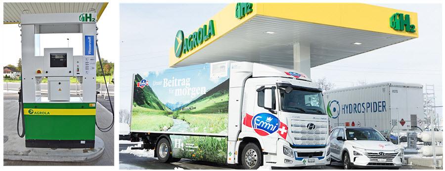 Fuel cells works, hydrogen, Argola, station, Rothenburg, fuel cells