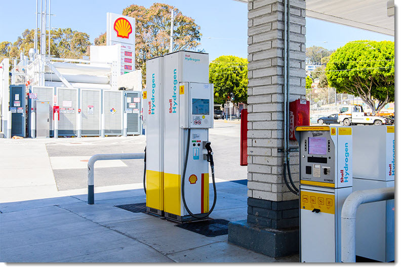 Berkeley hydrogen station 2021